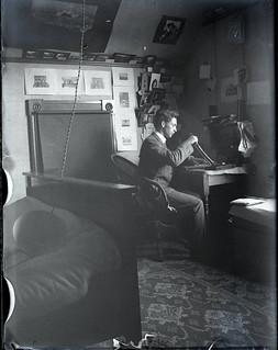 Morrill Graves Boynton 1904, student at Pomona College