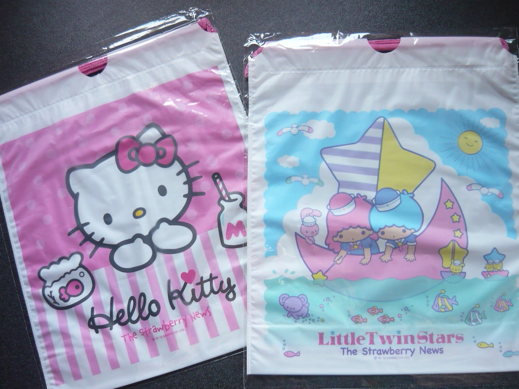 bef80179d hello kitty - little twin stars plastic bags | my sweet 80s | Flickr