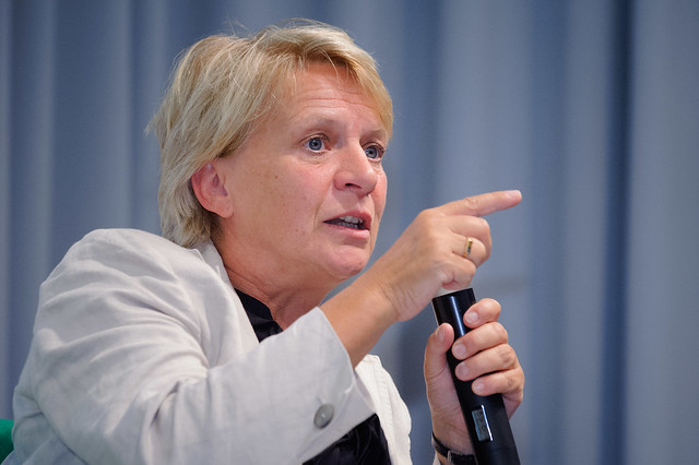 Barbara Unmüßig (Vorstand, Heinrich-Böll-Stiftung), Foto: www.stephan-roehl.de