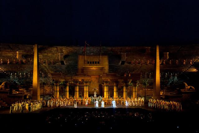 Opera Aida in the Arena ~Verona