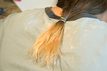 Diy Dip Dye Hair Dip Dye Hair With Kool Aid Tutorial W
