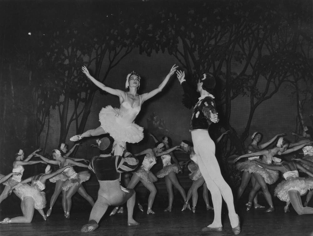 Performance of Swan Lake at Her Majesty's Theatre, Brisbane, 1953