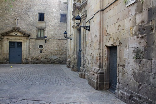 Placa de Sant Felip Neri | by katherineprice