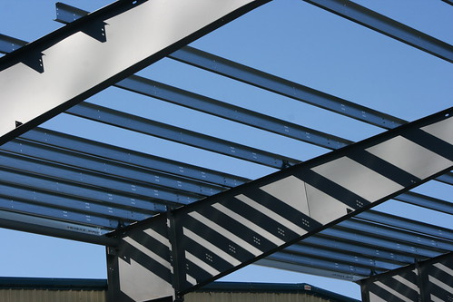 Blue sky construction - A new addition to Hexcel Plant in ...