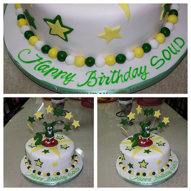Swell Gummy Bear Cake Souds Favourite Character 2Nd Birth Flickr Funny Birthday Cards Online Benoljebrpdamsfinfo