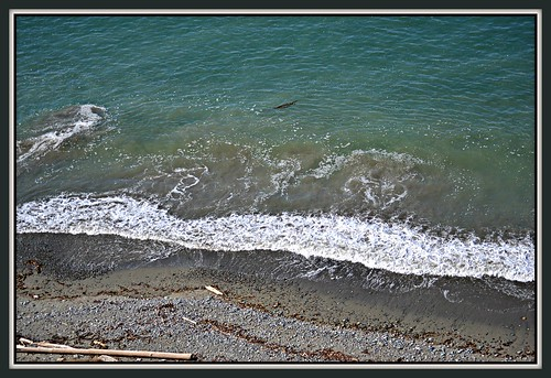 blue camping trees cliff usa seascape mountains beach nature water grass fence islands washington waves olympicpeninsula sequim trail 74 bluff straitofjuandefuca dungenessspit dungenessrecreationarea