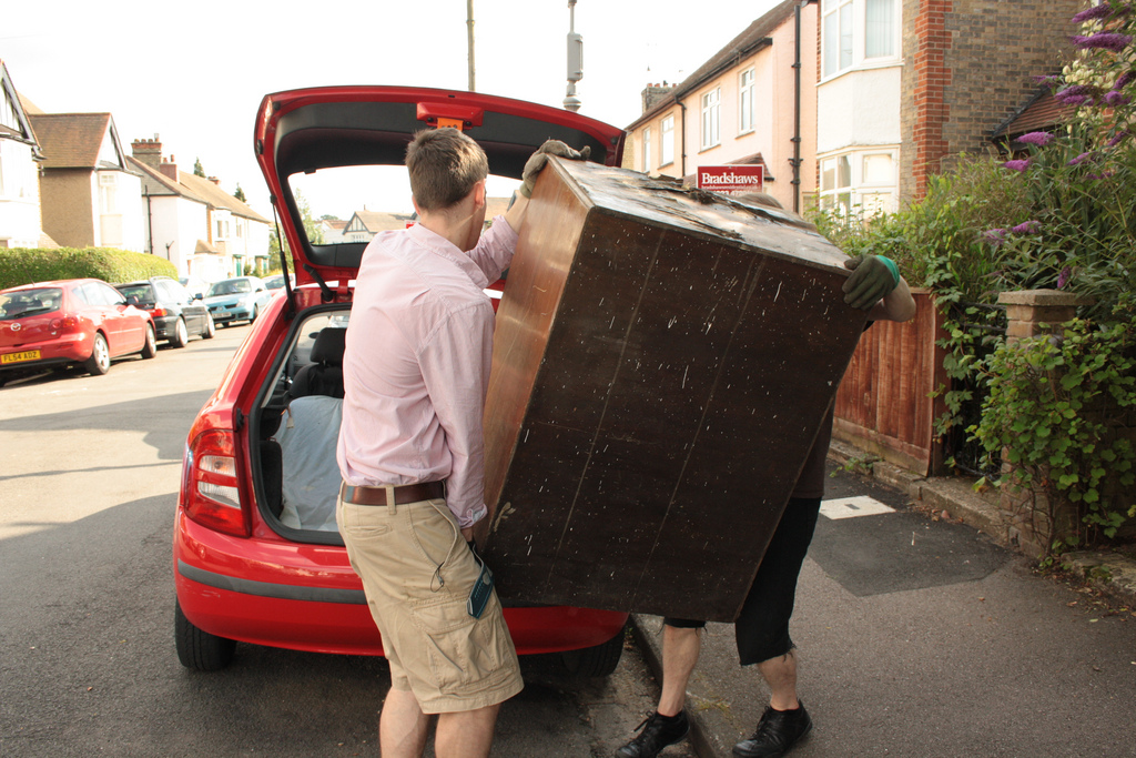 Loading the car 2 Sequences - -ing