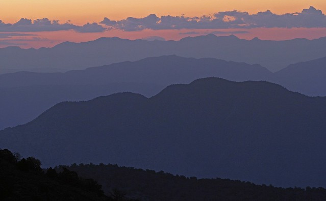 Sunrise in the White Mountains