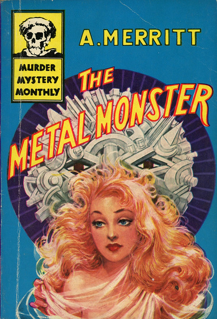 Avon Murder Mystery Monthly 41 - A. Merritt - The Metal Monster