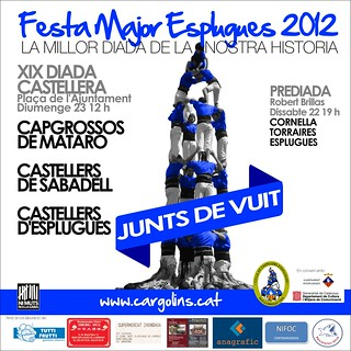127. Cartell de Festa Major, 2012 | by Cargolins
