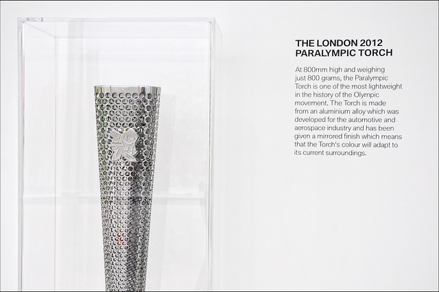 UK - London 2012 - Olympic Park - BMW Pavilion - Paralympic Torch