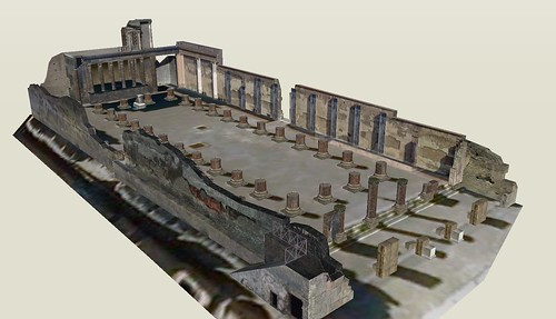 Pompeii - Basilica - 3D model | by The Classical World