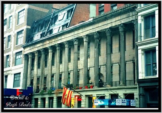 La Grange Terrace NY ~ Colonnade Row ~ New York City ~ Vintage film