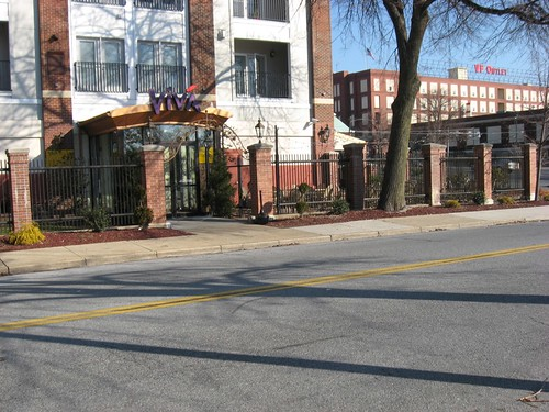 View of VIva looking NE towards VF Outlet Village | by The Promenade at Wyomissing Square
