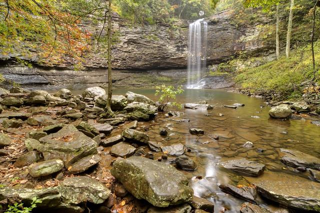 Cherokee Falls, Cloudland Canyon State Park, Dade County, Georgia 1