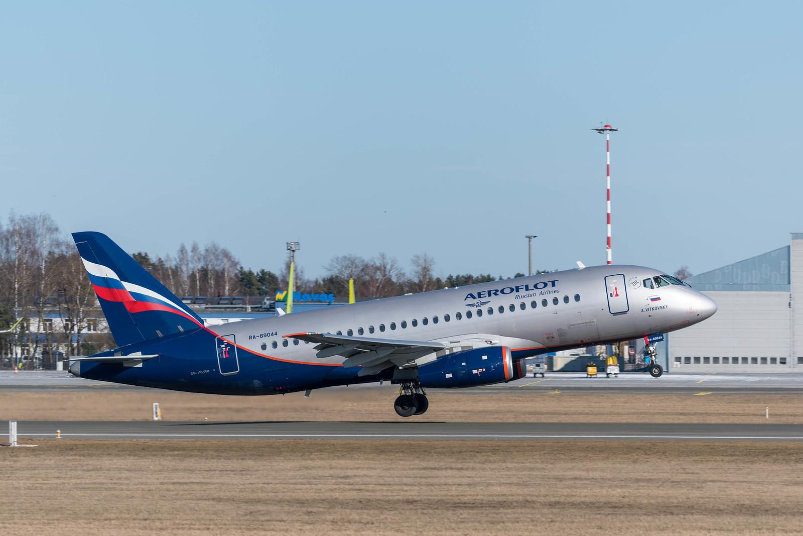 Aeroflot Sukhoi Superjet 100