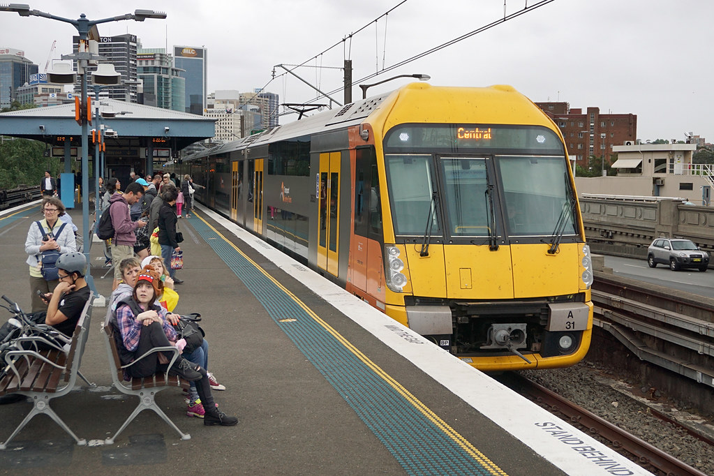 Sydney Trains 'Waratah' A31 - Milsons Point by Neil Pulling