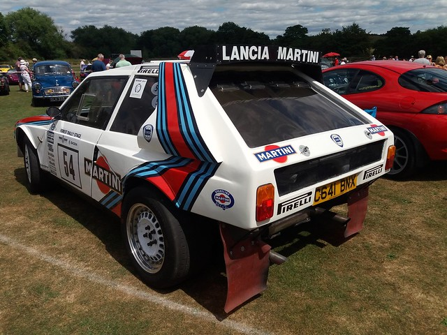 1986 Lancia Delta S4 Notton Village Classic Car and Motorcycle Show Notton Wakefield Yorkshire