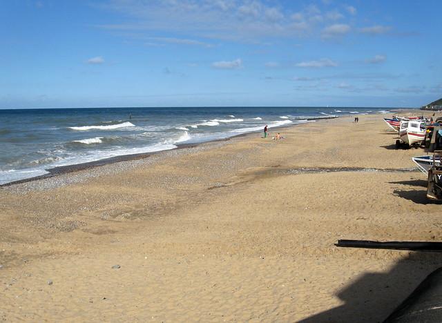 The beach at Cromer