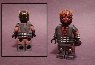 Custom Lego Star Wars The Clone Wars Darth Maul More Spec Flickr