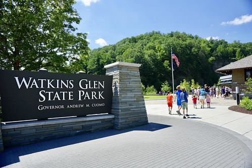 Arriving in Watkins Glen State Park yesterday | by dionhinchcliffe