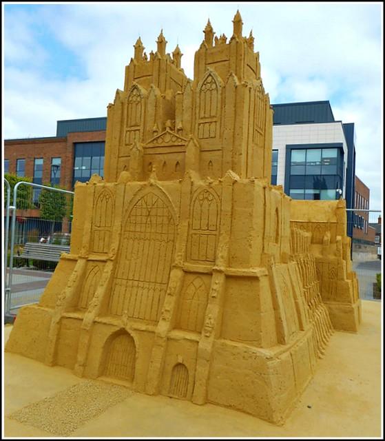 Sand Art Work ..