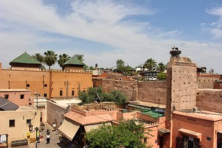 tomb from kasbah cafe | by sandrakaybee