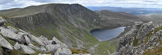 Lochnagar corrie from before the red spout | by Joe Kincaid