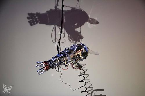 Artists & Robots - Stelarc | by Butterfly Art News