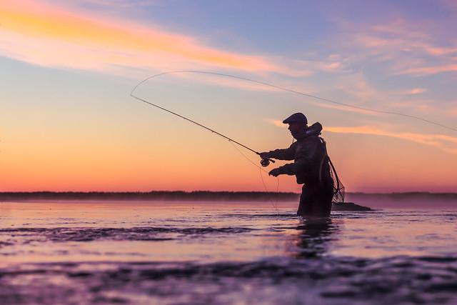 flyfishing in Lakeland Finland 2