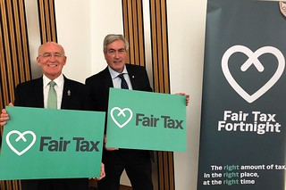 Backing Fair Tax Fortnight | by Iain Gray MSP