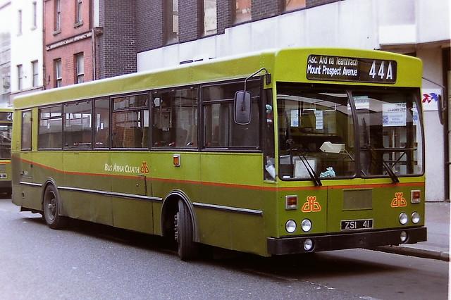 DUBLIN BUS/BUS ATHA CLIATH KC41 ZSI41