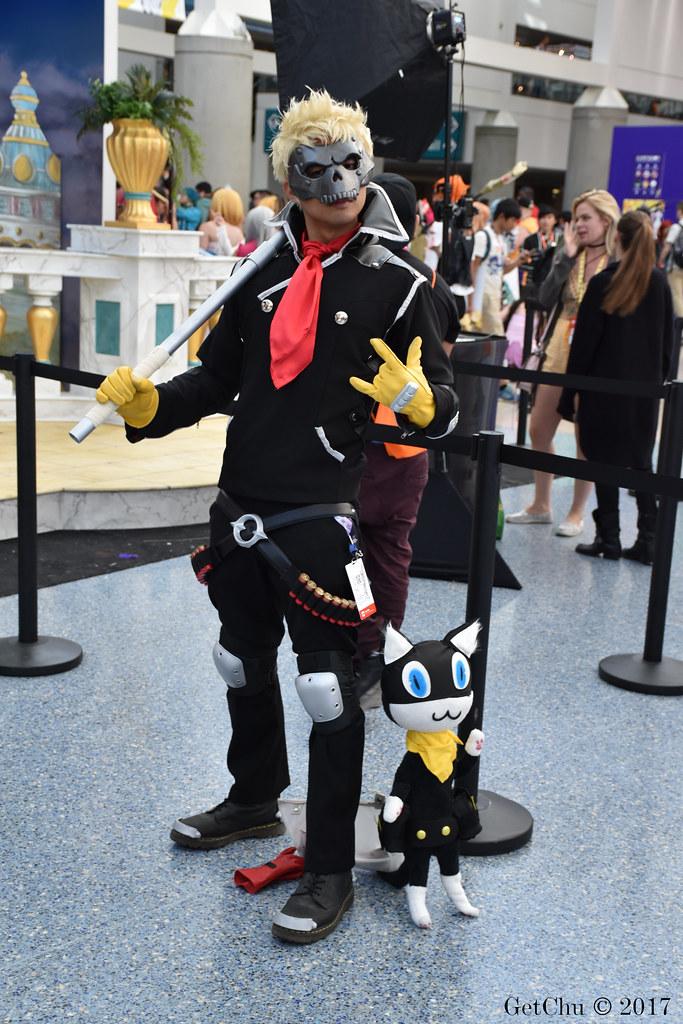 Persona 5 Ryuji Sakamoto Cosplay Costume With Mask
