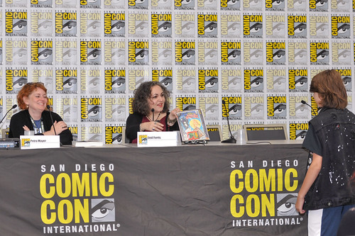 San Diego Comic-Con 2018:  Petra Mayer and Emil Ferris | by Kendall Whitehouse