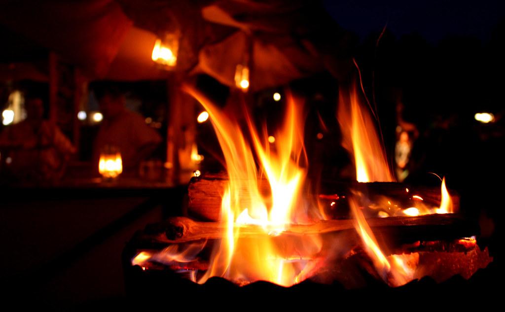 Gemütlichkeit am Lagerfeuer