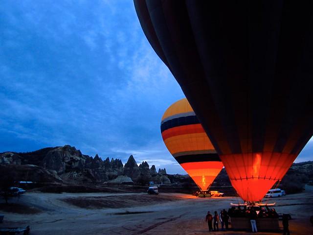 Hot air ballooning in Goreme