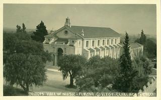 Older view of Bridges Hall of Music