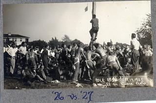 Pole Rush in 1923