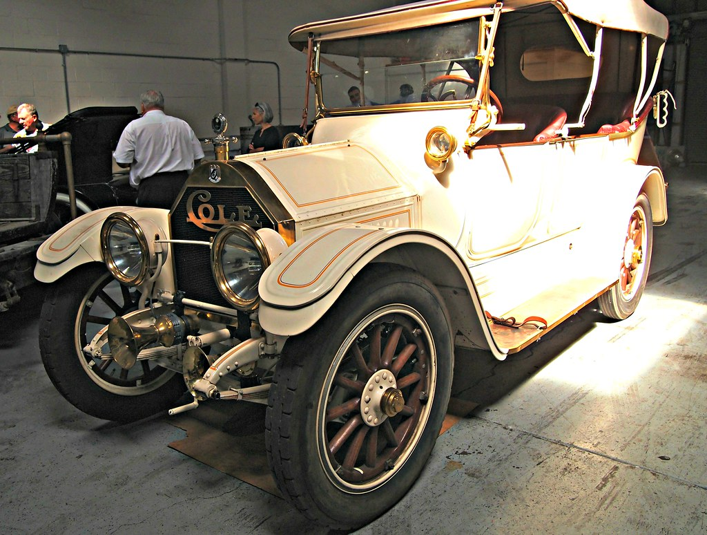 1913-1914 Cole 4-Door Touring Car 1 | Photographed at the US… | Flickr