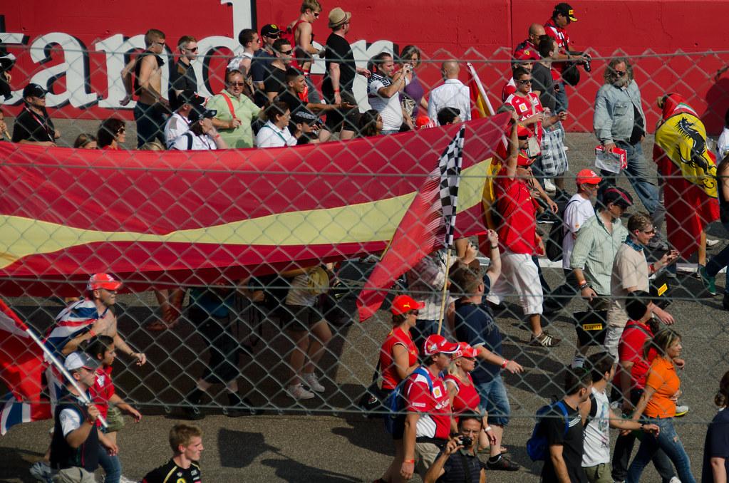 Italian Grand Prix Monza 2012 - Tifosi at the finish | Flickr