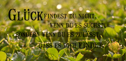 glück | by Wübke:)