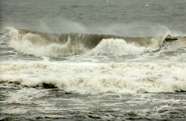 The sea today in Hartlepool 25th Sept 2012