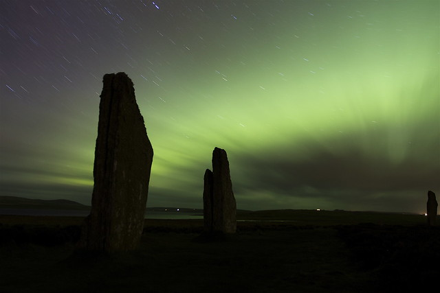 Ring of Brodgar- Aurora blowout!!