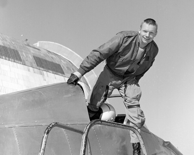 Armstrong in NASA Ames' Bell X-14