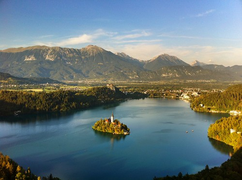 Ck Lake Bled from on High | by Nezzen