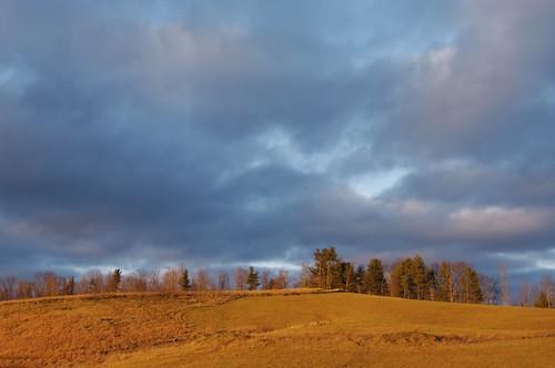 sunset sky clouds rural america landscape golden twilight day glow cloudy farm farmland westvirginia