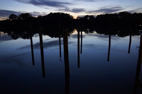 Carthegena Creek, reflections (W.R. Laray)