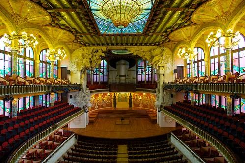 Palau de la Música Catalana, the Catalan Concert Hall | by jiuguangw