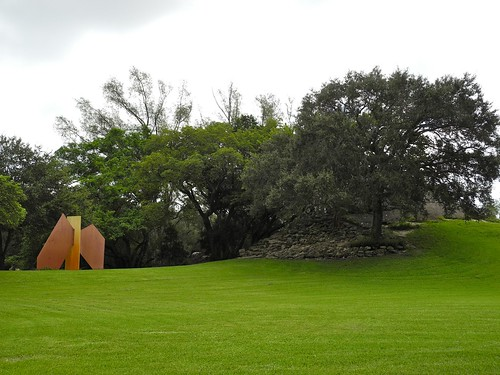 Sculpture on the hill