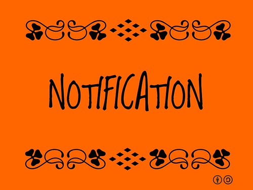 Buzzword Bingo: Notification = the act of giving notice | by planeta